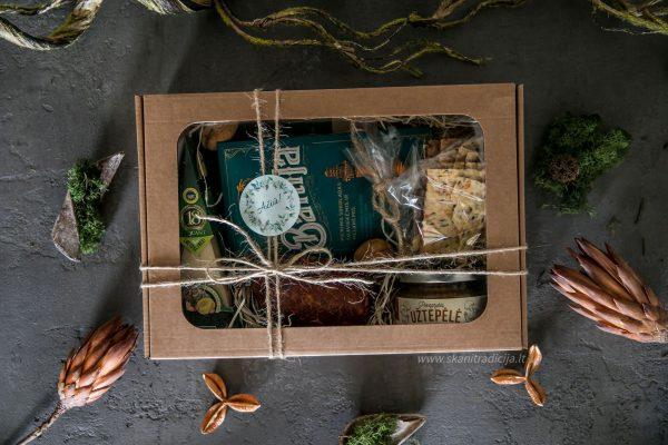 Suvenyrinis lietuviškų produktų rinkinys, lietuviška dovana