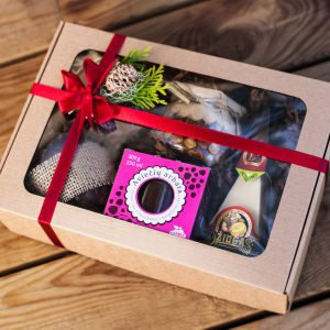 Dovanų idėjos Kalėdoms, lietuviško maisto rinkinys Kalėdoms
