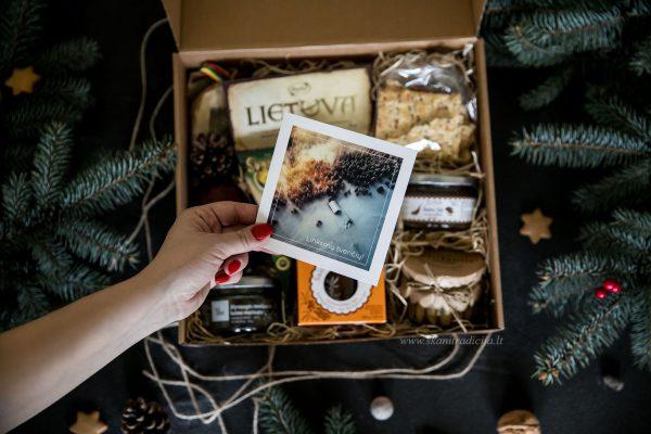 Kalėdinių skanėstų dovanų rinkinys, Kalėdinės lauktuvės