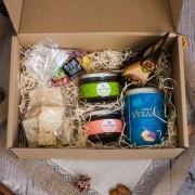 Tradicinių produktų dovanų rinkiniai