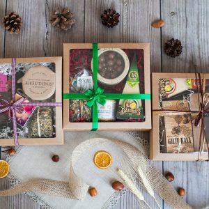 Įvairūs dovanų rinkiniai