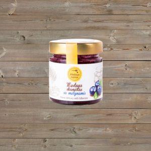 Medus su liofilizuotomis uogomis