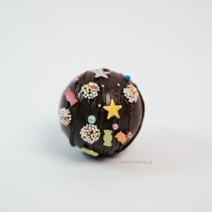 Suvenyrinis šokolado rutulys